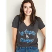 MLB® Team-Graphic V-Neck Tee for Women