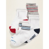 Unisex Sport Socks 4-Pack for Toddler & Baby