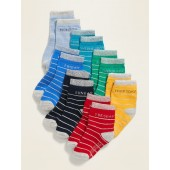 Unisex Day-Of-The-Week 7-Pack Socks for Toddler & Baby