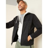 Go-Warm Sweater-Fleece Hybrid Zip Jacket for Men