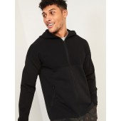 Zip-Front Performance Sweater Hoodie for Men