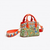 ROBINSON PRINTED TOP-HANDLE MINI BAG