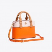 ROBINSON COLOR-BLOCK TOP-HANDLE MINI BAG