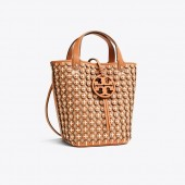 MILLER LEATHER CHAINMAIL BUCKET BAG