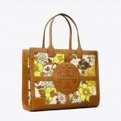 Ella Printed Quadrant Tote Bag