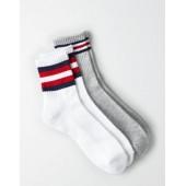 AEO USA Crew Socks 2-Pack