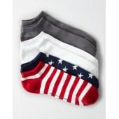 AEO Flag Low Cut Socks 3-Pack