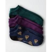 AEO Pizza Low Cut Socks 3-Pack