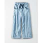 AE Denim Wide Leg Pants