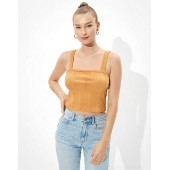AE Cropped Square Neck Tank Top