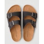 AEO Double Buckle Sandal