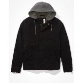 AE Sherpa Lined Hooded Workwear Jacket