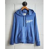 Tailgate Women's Los Angeles Dodgers Plush Hoodie