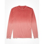 AE Super Soft Dip-Dye Long Sleeve T-Shirt