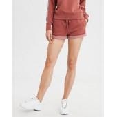 High-Waisted Fleece Short
