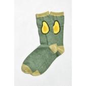 Avocado Halves Sock