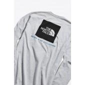 The North Face Box Logo Long Sleeve Tee