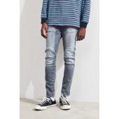 G-Star Elwood 5620 3D Grey Stonewash Skinny Jean