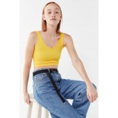 Out From Under Drew Seamless Cropped Tank Top