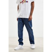 Wrangler Tapered Slider Mid Blue Slim Jean