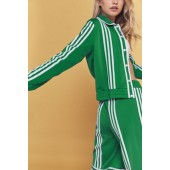 adidas Originals By Ji Won Choi 3-Stripe Snap Button Track Jacket