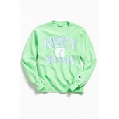 Champion University Of North Carolina Neon Crew Neck Sweatshirt