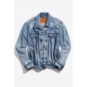 Levi's Inside Out Denim Trucker Jacket