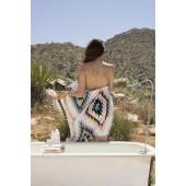 Slowtide Black Hills Printed Bath Towel