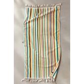 Slowtide Channel Jacquard Stripe Woven Bath Towel