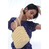 Julie Woven Handbag