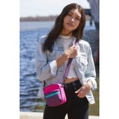 Colorblock Camera Crossbody Bag