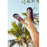 UO Ava Tie-Dye Platform Sandal