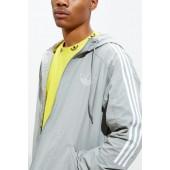 adidas Outline Trefoil Windbreaker Jacket