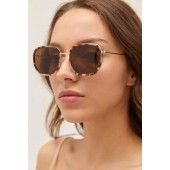 Tallulah Small Hexagon Sunglasses