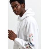 Floral Watercolor Hoodie Sweatshirt