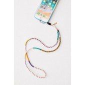 Le Pom Pom Royal Phone Strap