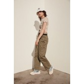 UO Rico Belted Wide Leg Cargo Pant