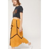 UO Amber Lace Inset Slip Skirt