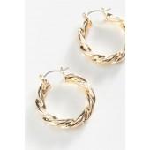 COCOA & UO Exclusive Twisted Hoop Earring
