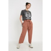 UO Cotton Stripe Crop Pant