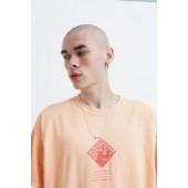 UO Gestures Orange Short-Sleeve Tee