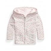 Ralph Lauren Baby Girls Floral Reversible Jacket