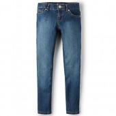 Girls Basic Super Skinny Jeans - Victory Blue Wash