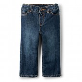 Baby And Toddler Boys Basic Loose Jeans - Medium Classic Wash