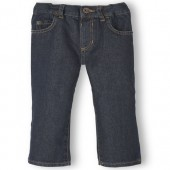 Baby And Toddler Boys Basic Straight Jeans - Retro Vintage Wash