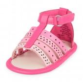 Baby Girls Laser Cut Gladiator Sandal