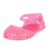 Baby Girls Cut-Out Glitter Jelly Ballet Flat