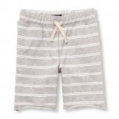Boys Matchables Printed Terry Knit Shorts