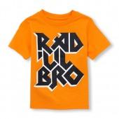 Toddler Boys Short Sleeve Rad Lil Bro Graphic Tee