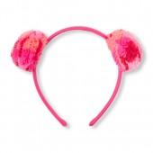 Toddler Girls Pom Pom Ears Headband